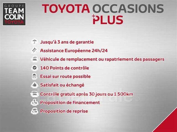 TOYOTA YARIS III (2) 69 VVT-I FRANCE 3P 2016 Essence occasion - Arcueil - Val-de-Marne 94