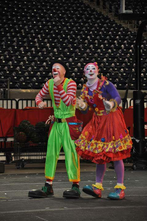 Ringling Brothers Circus Clowns | Ringling Bros. and Barnum & Bailey held a once-in-a-lifetime ...