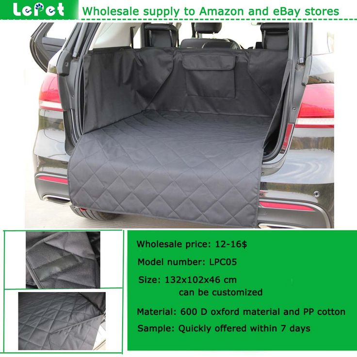 Manufacturer Wholesale Heavy Duty Quilted Waterproof Dog Trunk Cargo Liner Seat CoversDog Car