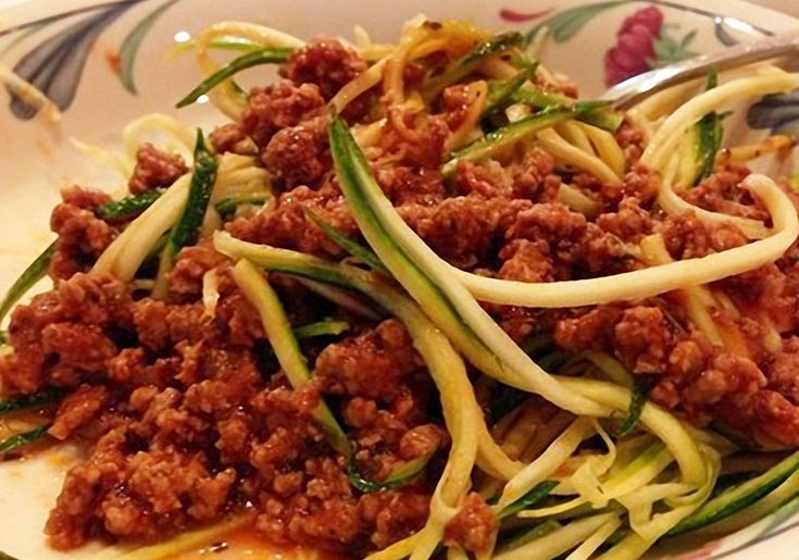 This Veggi Spaghetti is delicious, fast & easy. It is a versatile recipeyou can make with meat or leave it out, and customize to your own taste!