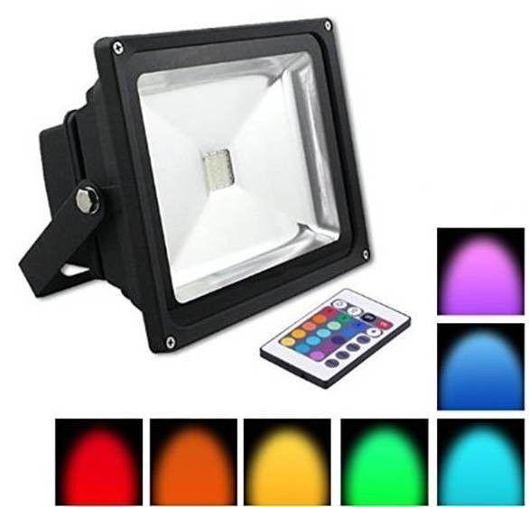 Trova Faro Led 10W -20W-30W - RGB - Cambiacolore  Faro Led 10W -20W-30W - RGB - Cambiacolore  nella categoria Casa, arredamento e bricolage, Illuminazione da interno, Luci a LED su eBay.it