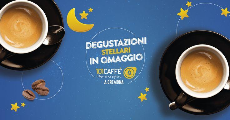 """Anche in questo """"giovedì d'estate"""", 101CAFFE' Cremona ti sorprende con gusto! Approfitta delle promozioni di luglio anche sui prodotti per macchina Nespresso... Siamo aperti fino alle 23.30!"""