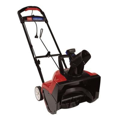 Toro Power Curve 18 in. Corded Electric Snow Blower-38381 at The Home Depot