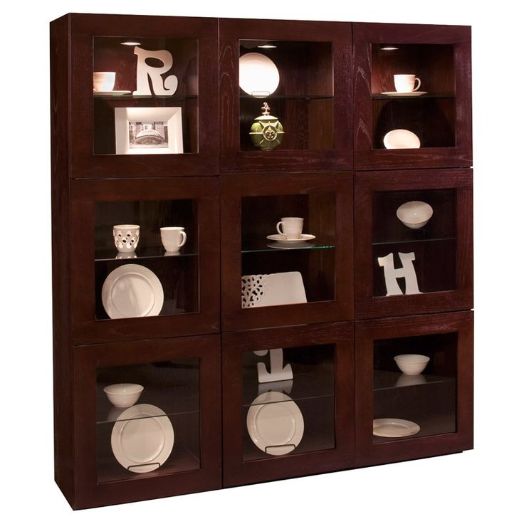 Philip Reinisch Company Halo Taurus Bunching Display Curio Cabinet - 76130