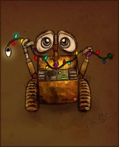 Wall-E Christmas