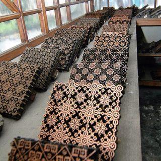Batik stamp