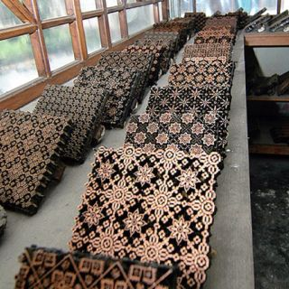 Batik stamp - copper tjaps