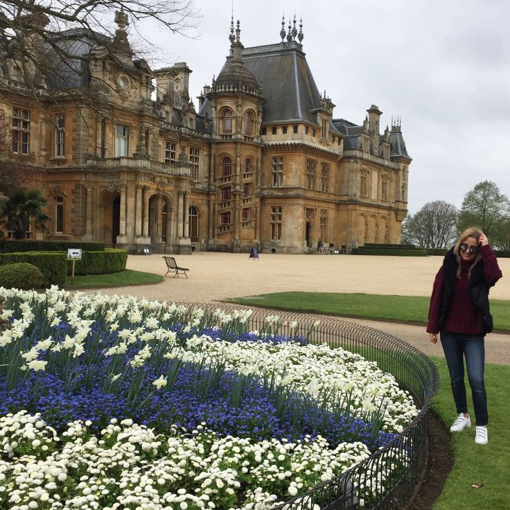 Gilet by @pinkoofficial @Waddesdonmanor