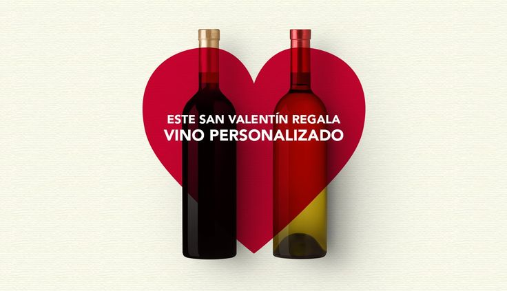 Este San Valentín regala vino personalizado