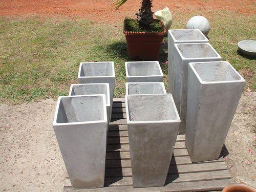 Las 25 mejores ideas sobre jardineras de cemento en - Como hacer maceteros grandes ...