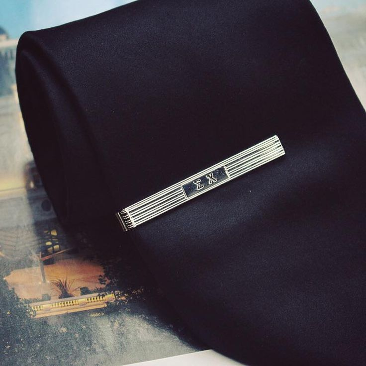 Sigma Chi Fraternity Tie Clip Bar made by The Collegiate Standard. $19