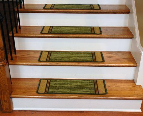 Washable Non Skid Carpet Stair Treads U2013 Boxer Green (13) Http:/