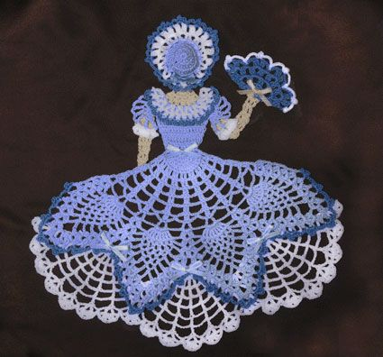 Miss Belle Crinoline Girl Doily Pattern