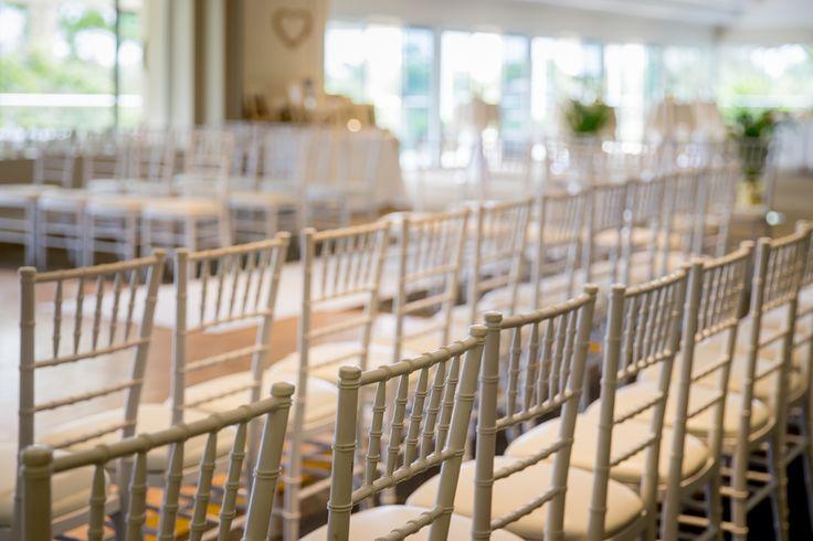 indoor wedding room set up