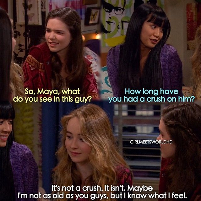 girl meets world shawn and maya relationship Even though this show ruined boy meets world in my opinion, it's still better than pig though you're not even in elementary school, you need to be in a relationship and i agree because i'm not fond of maya due to her similarity to shawn.
