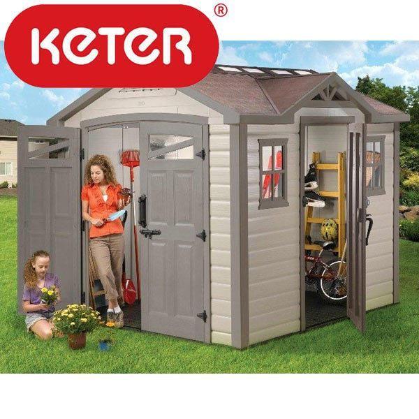 Keter summit garden shed garden sheds at deals direct for Best deals on garden sheds