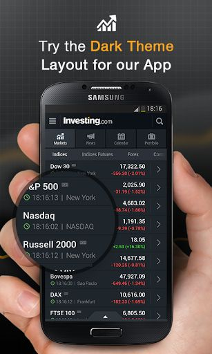 Stocks Forex Futures & News v3.5.22 [Unlocked]   Stocks Forex Futures & News v3.5.22 [Unlocked]Requirements:4.0.3Overview:Join the hundreds of thousands that are using the INVESTING.com app every day to stay on top of financial markets.  The worlds leading financial app for smartphones and mini tablets delivers real-time streaming quotes for all financial instruments including Stocks ETFs Bonds Commodities Forex Indices Futures and Bitcoin. Our live Economic Calendar ensures youre…