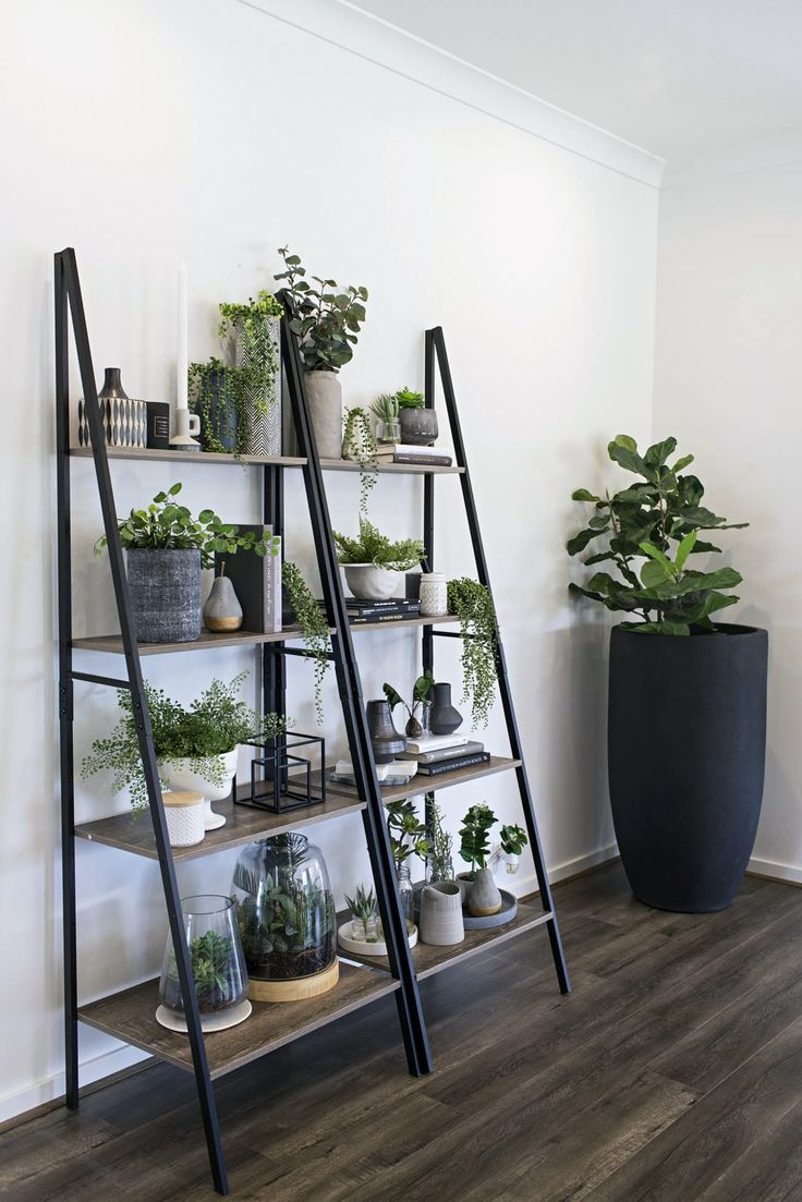 Kmart Hack: Industrial Shelf Turned Vertical Garden