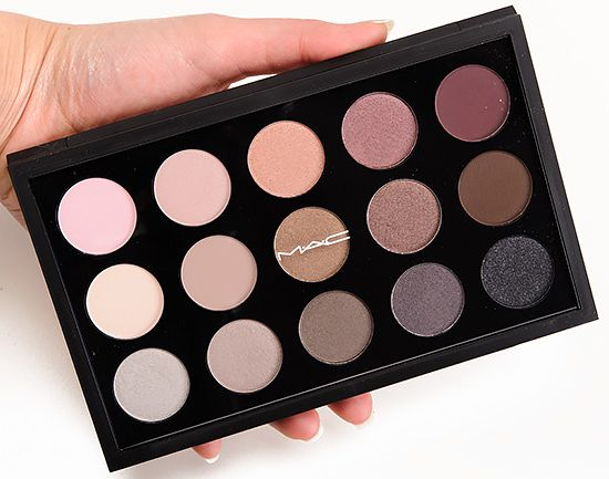 MAC Eyeshadow x 15/Cool Neutral Palette Review, Photos, Swatches