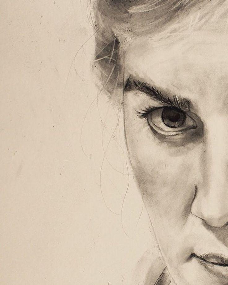 David Fooks Charcoal Portrait