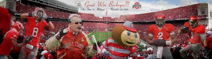 I love Ohio State and Jim Tressel forever. Nothing will ever take it away. THE GAME 2010.