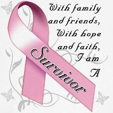 Breast cancer survivor :0 :)
