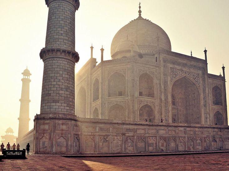 Taj Mahal, India  Photograph by Colin Roohan