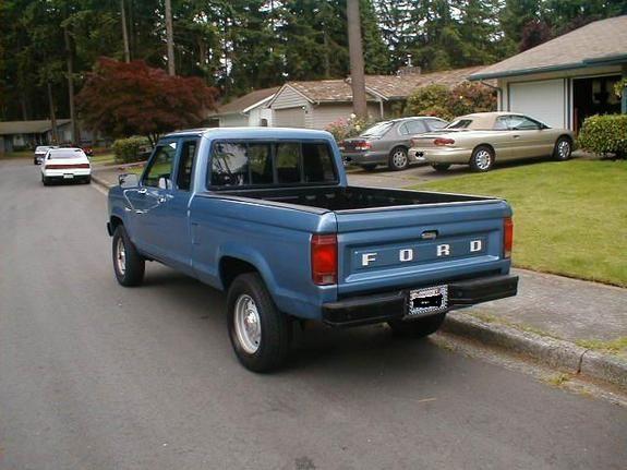 1986 Ford Ranger Supercab Stock