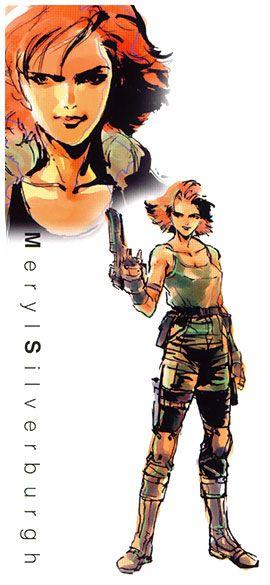 Meryl Silverburgh - Characters & Art - Metal Gear Solid