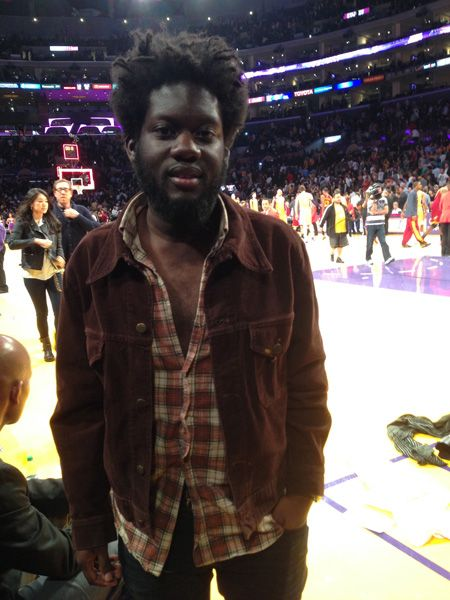 3.Jan. 14, LA:  Michael Kiwanuka comes to the game and The Lakers STILL don't win :-(