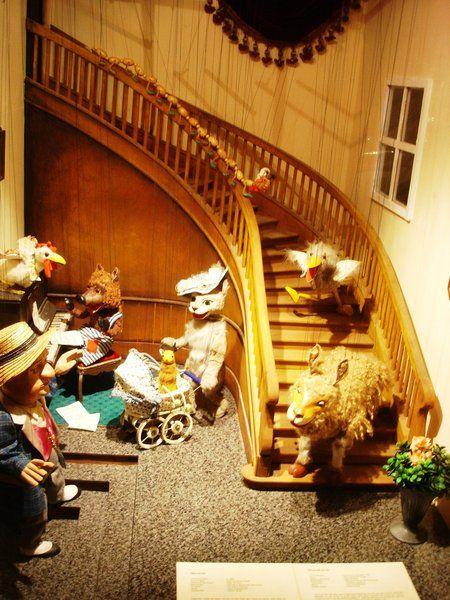 Augsburger Puppenkiste // Katze mit Hut