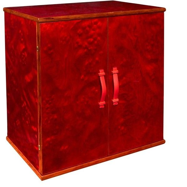 Red Burlwood Armored Jewelry Chest ($18,950) ❤ liked on Polyvore featuring home, home decor, jewelry storage, anchor home decor, red jewelry box, handmade jewelry box, red home decor and handcrafted jewelry box