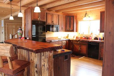 1000 Images About Natural Wood Countertops On Pinterest