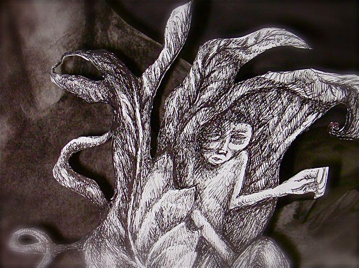 """""""secrets of a tale"""" Blatt creature by Tamara Jordan"""