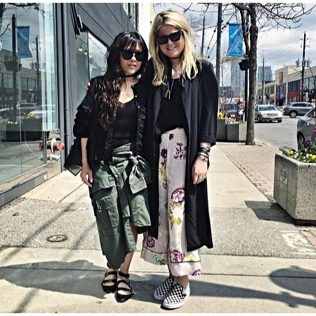 Gorgeous Cat in our floral palazzo pant #SS16 @tntfashion