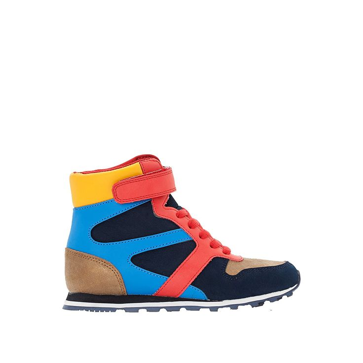 Abcd'r Little Boys High Top Trainers -- Hurry! Check out this great
