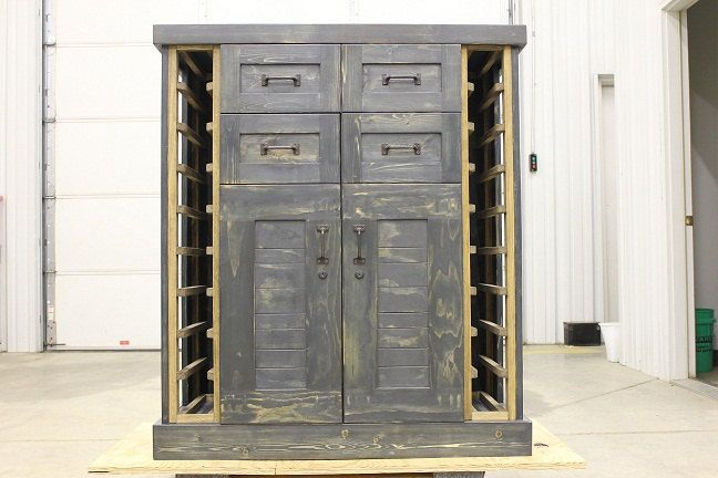 Liquor Cabinet With Lock: Locking Liquor Cabinet Furniture