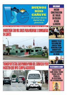 buenosdiascanete.blogspot.com: Diario digital BUENOS DÍAS CAÑETE, edición 31/10/1...