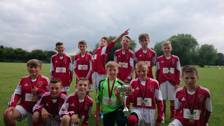 Alfreton Town Juniors, tournament Champions at Chaddesden. ZERO goals conceded. Well done keeper.