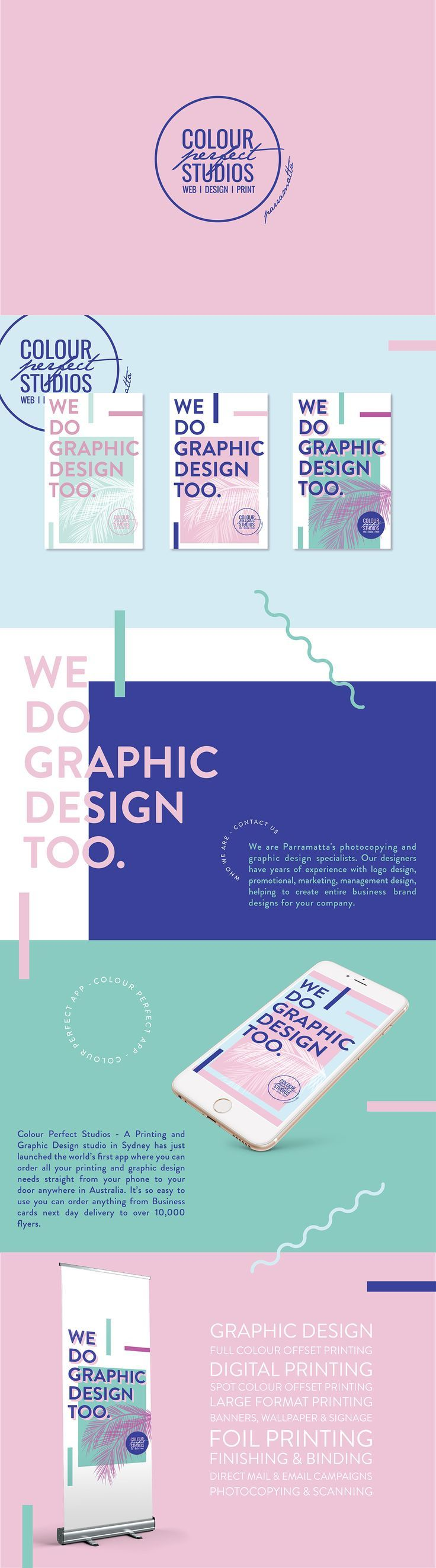 graphic design branding we do graphic design too on behance - Portfolio Design Ideas