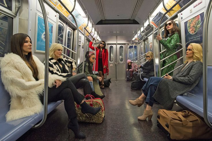 See the first official photo of the all-female 'Ocean's 8'