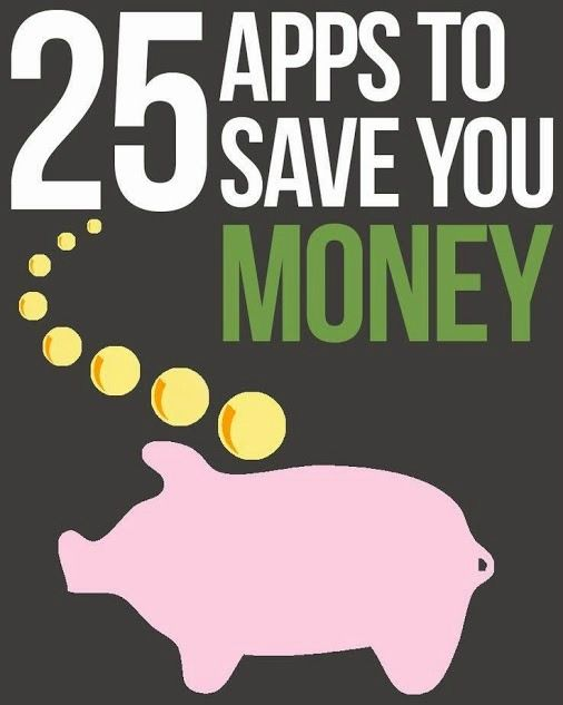 25 apps to save your money