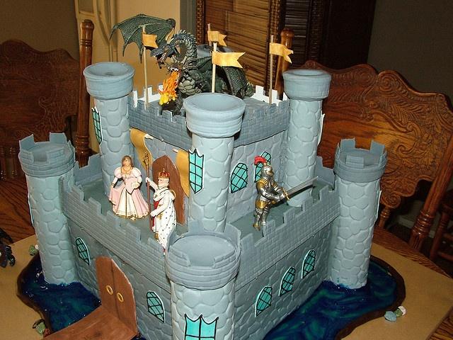 Castle cake ideas