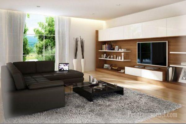 kursi sudut untuk ruangan yang indah