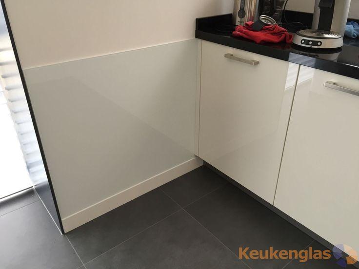 Glazen keuken achterwand Nijmegen - Keukenglas