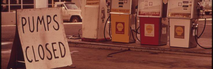 1970s energy crisis, gas shortage