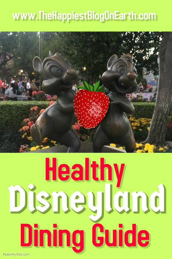 Healthy Disneyland Dining Guide what to eat a still feel fit and fabulous at Disneyland park.