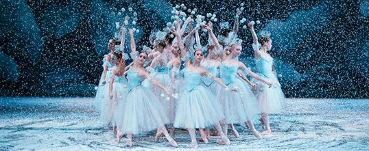 the one thing i want to see this christmas. the nutcracker, new york city ballet.