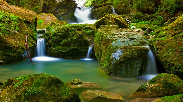 relaxing image, waterfall, could be just about anywhere . . . .