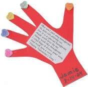 Special Valentine's Day Handprint Craft: Valentine's Day Crafts for Kids - Kaboose.com